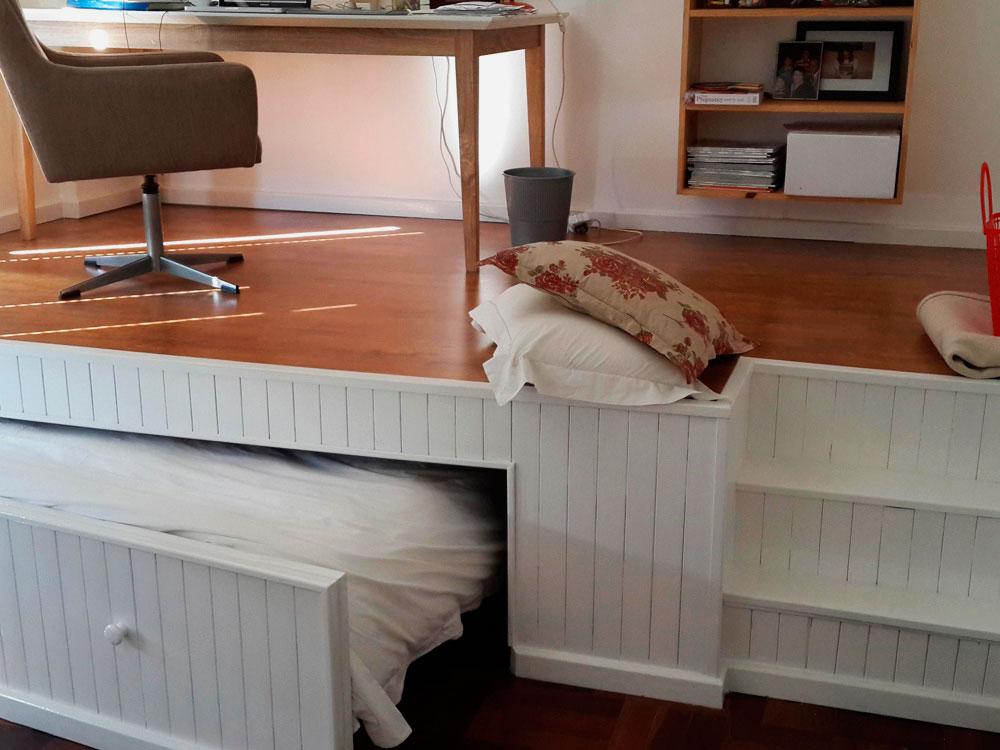 Кровать-подиум своими руками