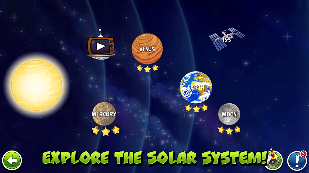 Angry Birds Space Premium Apk - Screenshot