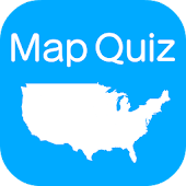 US States & Capitals Map Quiz