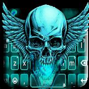 App Neon Green 3d Skull Keyboard Theme APK for Windows Phone