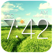 Galaxy Clock & Weather Widgets