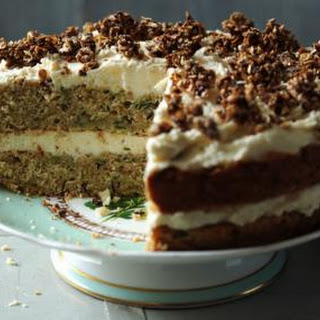 Courgette and Caraway Cake Recipe