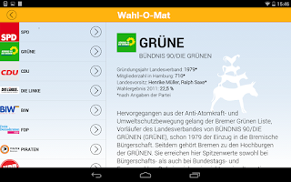 Screenshot of Wahl-O-Mat