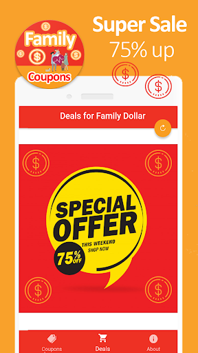 Smart Coupons for Family Dollar u2013 Hot Discounts ud83dudd25 0.0.1 app download 1