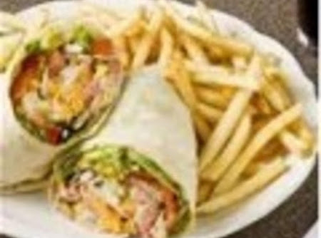 Ranch Chicken Finger Wrap Recipe