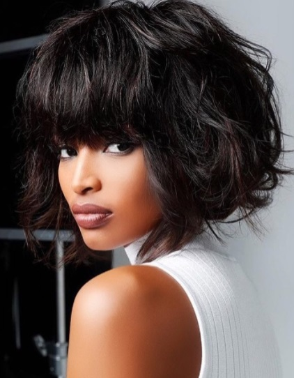Ayanda Thabethe is one of the global ambassadors for Mizani hair care.