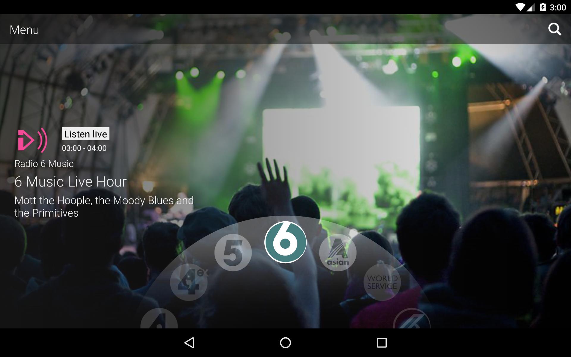 BBC iPlayer Radio screenshot #11