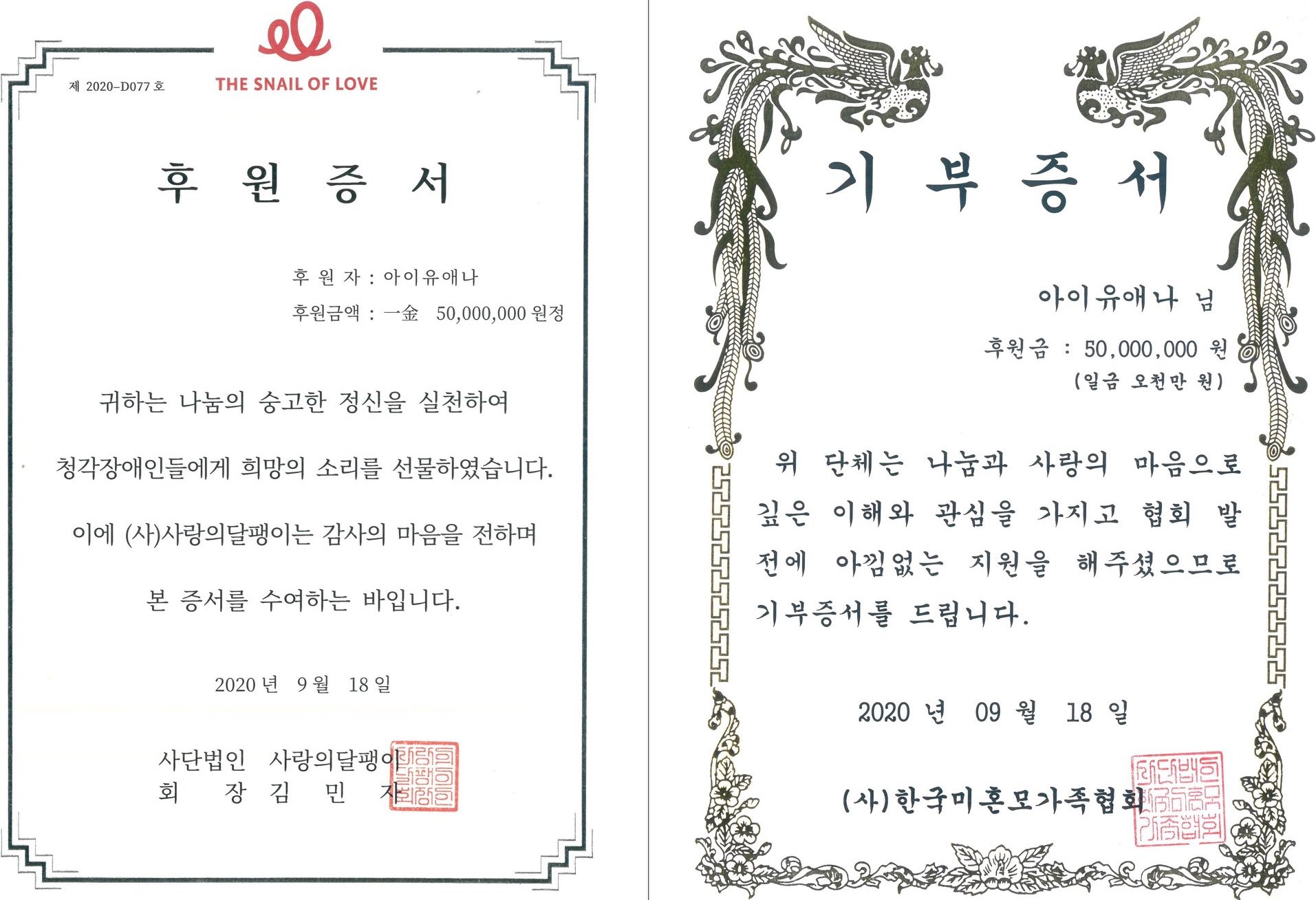 iu certificates