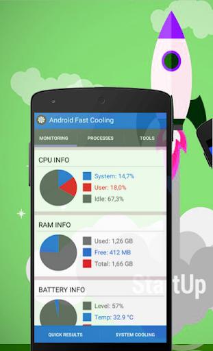 CPU Cooler Phone Cooler Master screenshot 2