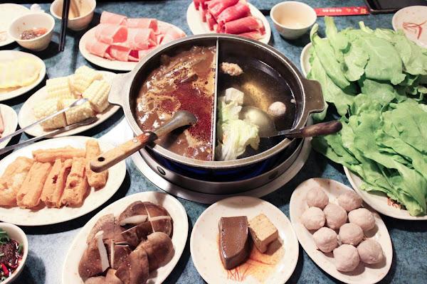 板橋火鍋 ::齊味麻辣鴛鴦鍋 板橋之光!鴛鴦鍋怎麼點最划算好吃