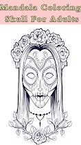 🌈 Skull Mandala  For Aduls 🌈 - screenshot thumbnail 06