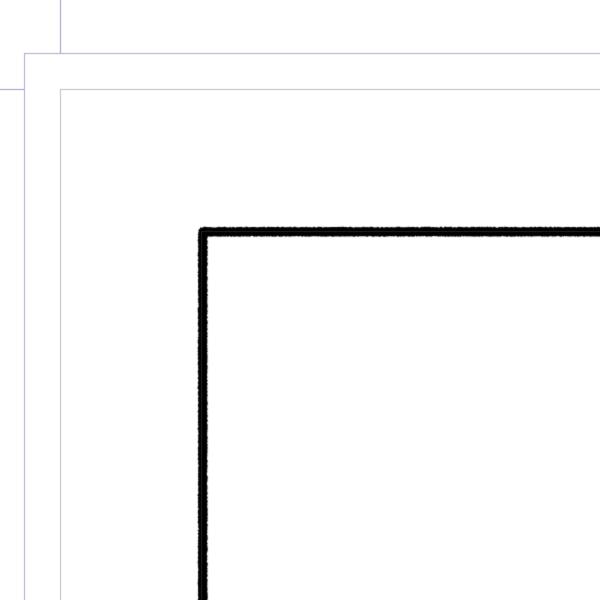 クリスタ:手描き風コマ枠