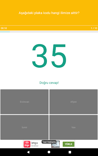 Harita Oyunu: Tu00fcrkiye - u015eehir Bulmaca 1.0.23 screenshots 19