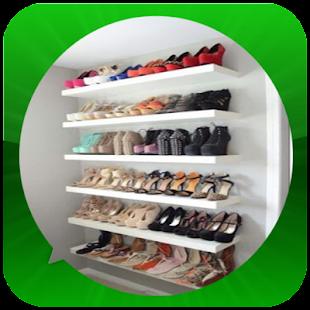 Nápady pro skladování obuvi - náhled