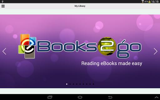 eBooks2go Reader