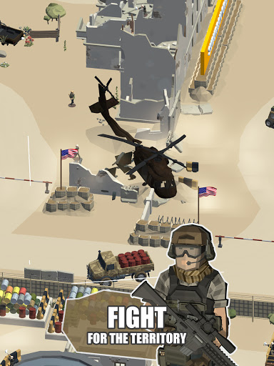 Idle Warzone 3d: Military Game - Army Tycoon 1.1 screenshots 13