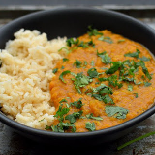 Red Lentil Coconut Curry [Vegan, Grain-Free].
