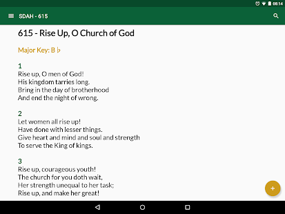 SDA Hymnal- screenshot thumbnail