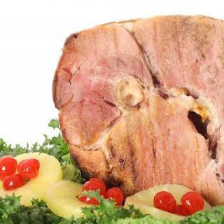 Skinny Honey Baked Ham.