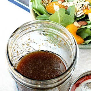 Mason Jar Balsamic Salad Dressing.