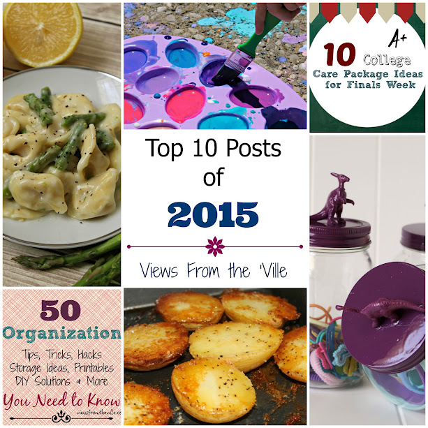Top 10 Posts of 2015 from Views From the 'Ville: Recipes, DIY Projects & More