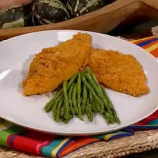 Crunchy Dijon Flounder