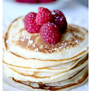 Simple Lemon Ricotta Pancakes.