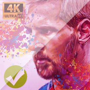 Lionel Messi Wallpaper 4k HD FCB Fans - náhled