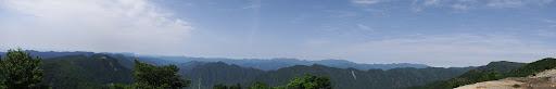 コブシ嶺からパノラマ2
