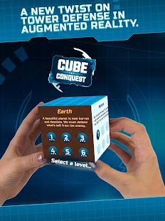 Cube Conquest for MERGE Cube Screenshot