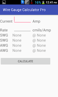 Wire gauge calculator pro android apps on google play wire gauge calculator pro screenshot thumbnail greentooth Image collections