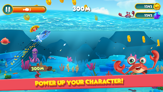 Dolphy Dash: Ocean Adventure MOD APK (Unlimited Money) 1
