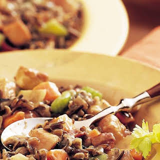Slow-Cooker Herbed Turkey and Wild Rice Casserole.