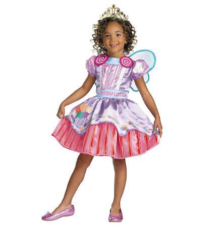Barnklänning, candy 122/128 cl
