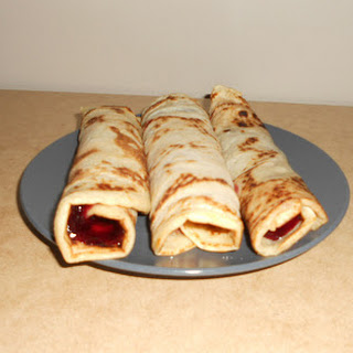 The last day of Vegan MoFo, Czech Pancakes and Czech lazy dinner