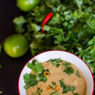 Instant Pot Thai Red Curry Lentil Soup.