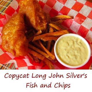 Copycat Long John Silver's Fish-and-Chips.