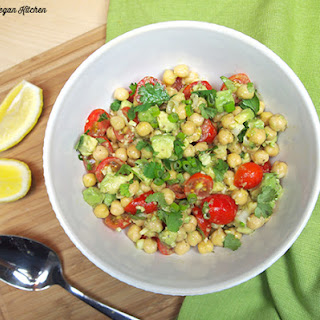 Summertime Avocado-Chickpea Salad