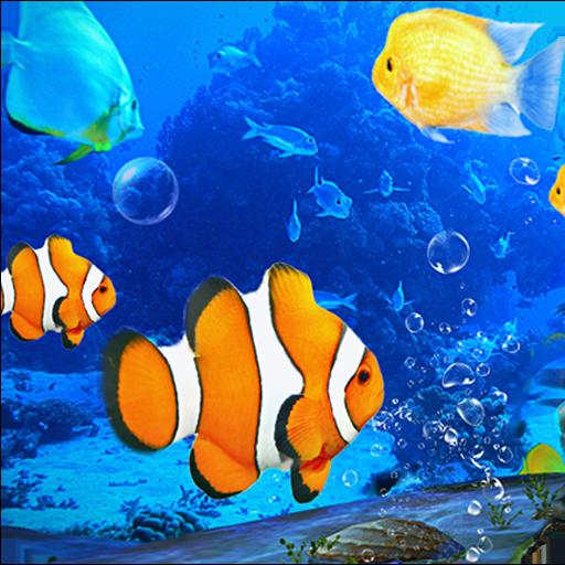 Aquarium Clown Fish Live Wallpaper 2018