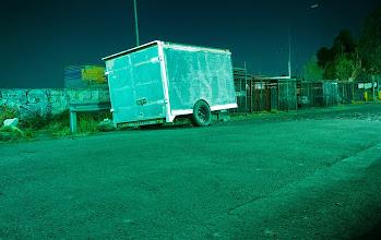 Photo: La caja, estructura de contención del espacio.