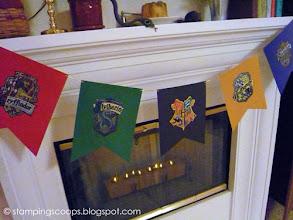 Photo: Hogwarts House Banners
