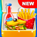 School Lunchbox - Food Chef Cooking Game icon
