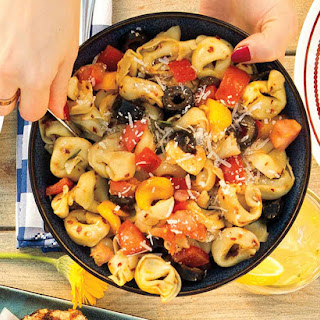 Zesty Six Cheese Tortellini Salad