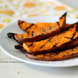 Grilled Chipotle Lime Sweet Potato Fries.