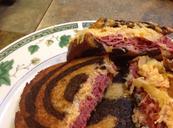 Lady Rose's Marble Rye Classic Reuben Sandwich Recipe