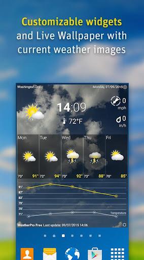 WeatherPro Free  screenshots 3
