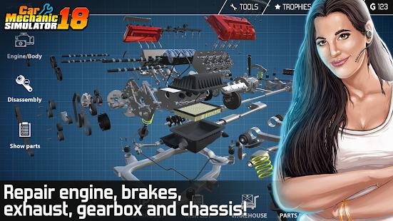 Resultado de imagen para Car Mechanic Simulator 18 android