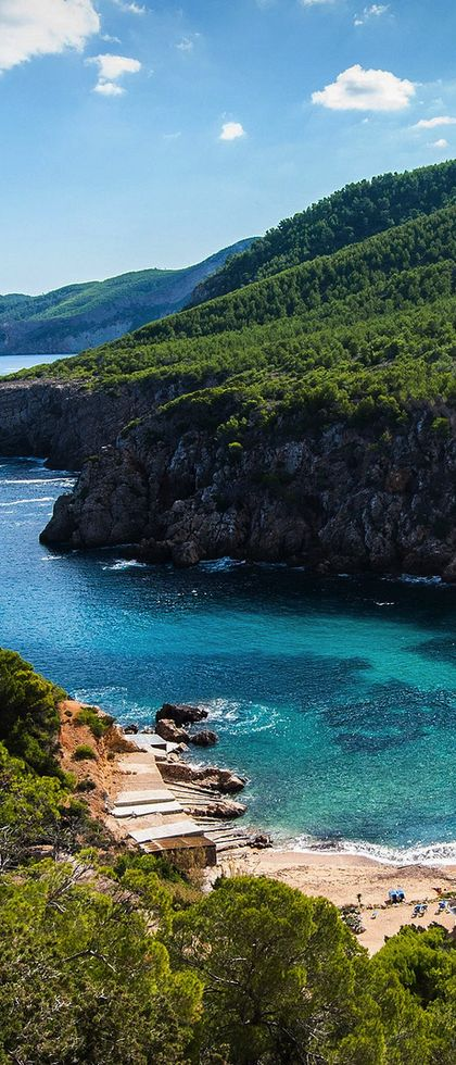 Cala D´en Serra, Ibiza, Spain: