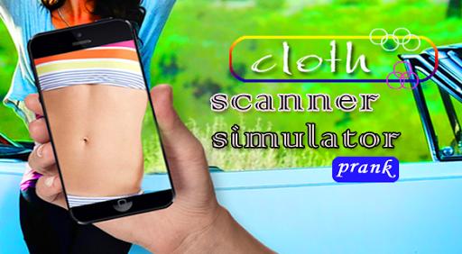 X-ray Cloth Scanner Prank