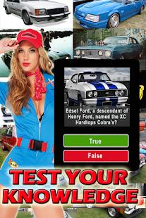 Muscle Cars Quiz Australian Cars True False Trivia Android Apps